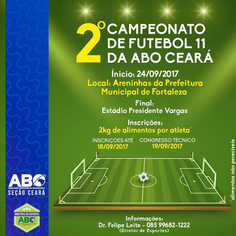 2º Campeonato de Futebol da ABO Ceará