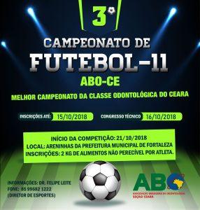 3º Campeonato de Futebol-11 ABO CE 2018