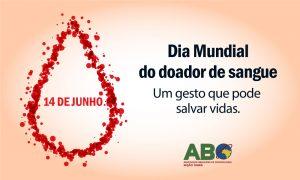 Dia Mundial do Doador de Sangue 2019