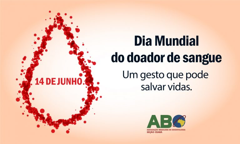 Dia Mundial do Doador de Sangue 2019