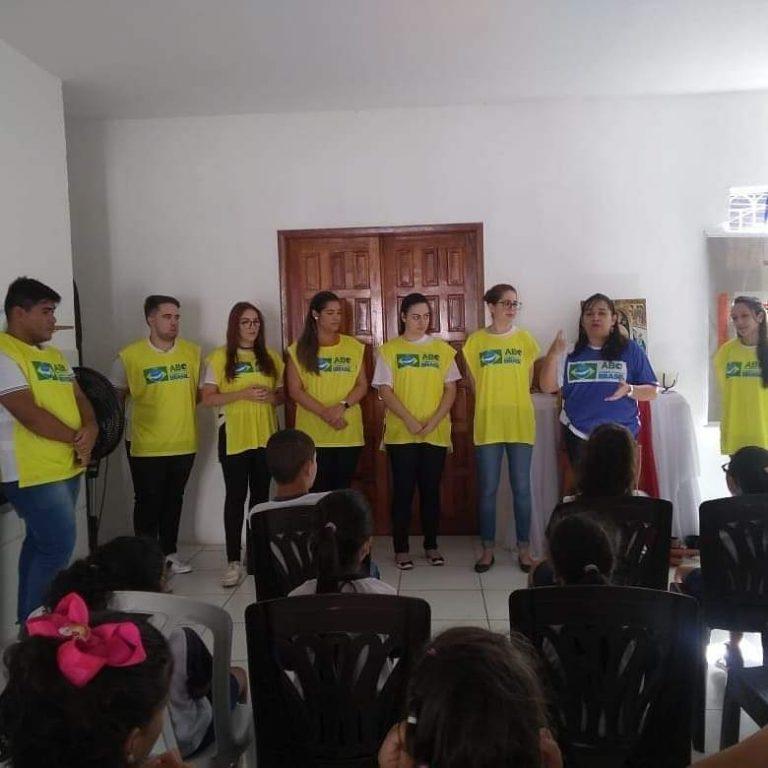 """Ação """"Um Sorriso do Tamanho do Brasil"""" – Casa Ronaldo Pereira"""